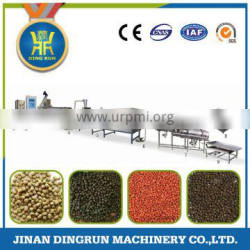 For Fish Farming Big Capacity Floating Fish Feed Pellet Extruder Machine