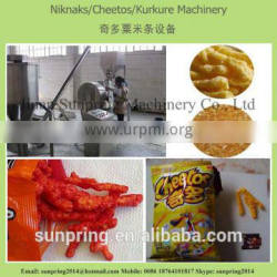 Delicious Cheese Curls Snacks Machinery