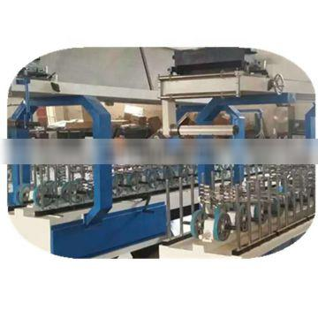 MS-600A PVC film cold glue wrapping machine for profile 10