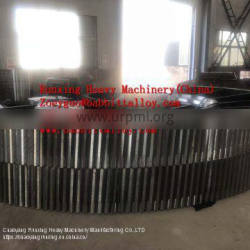 Mill girth Gears, ring Gears, bull Gears, pinions and shafts from China Factory directly