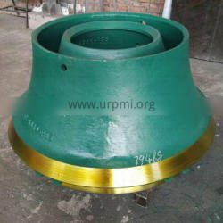 Ore Mining wear resistance high manganese steel crusher parts bowl liner suit metso