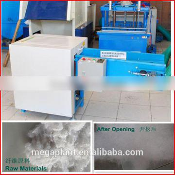 Cotton Opening And Pillow Filling Machine Textile Fiber Fabric Cotton Waste Recycling Machine