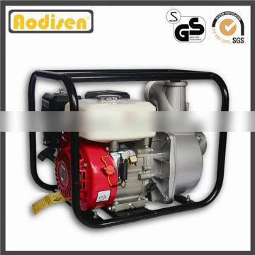 reliable 3 inch 80mm Aodisen GP80, 168F-1 6.5hp GX200 honda engine, 196cc, ISO approved agriculture WP30 gasoline water pump