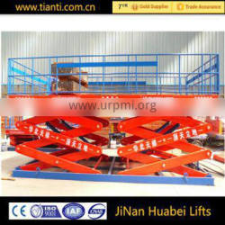 CE car lifting platform hydraulic scissor lift table