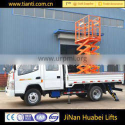 High Quality Fixed Car Hydraulic Electric Scissor Lift Platform cheap price