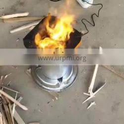 Small Portable Hearth Wood Cooking Burning Stove