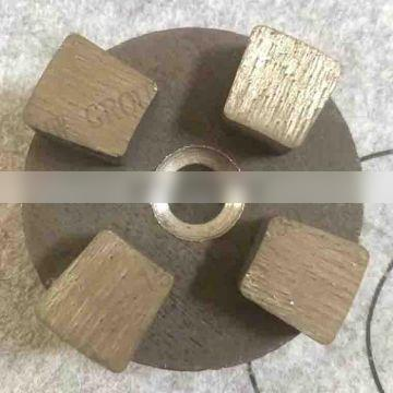 Floor concrete polishing machine diamond pads grinding machine with Resin pad