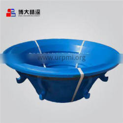 Mn18Cr2 cone crusher wear parts concave and mantle applyto Symons Cone Crusher Wear Parts