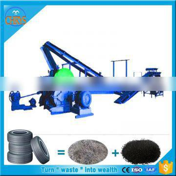 High Capacity Used tyre powder recycling plant_Rubber powder making line