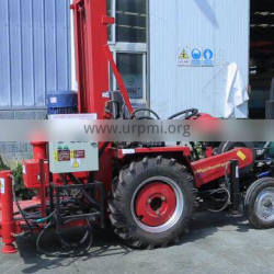 Tractor Big Hole Soil Water Well Drilling Rig On Sales