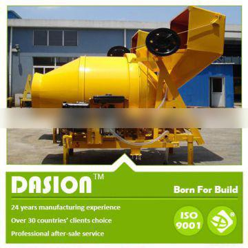 JZR350H concrete mixer with hydraulic type diesel