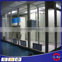 Vertical inflow Mobile clean room modules with ESD air curtain