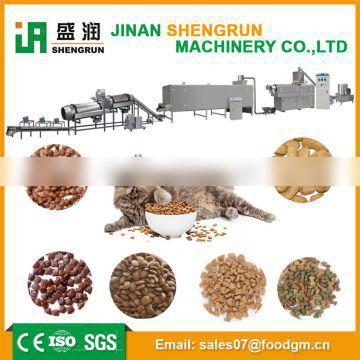 Shengrun high quality cat/fish/dog food extruder processing line for export