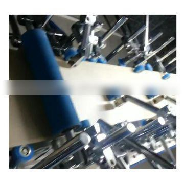 pur hot melt glue profile wrapping machine for frame and door casing