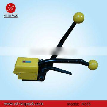 A333 manual steel strapping packing machine