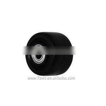 Industrial Small Ball Black Rubber Furniture Solo Wheels