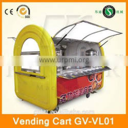 new style street food cart for sale