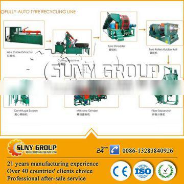rubber grinder used tyre recycle machine