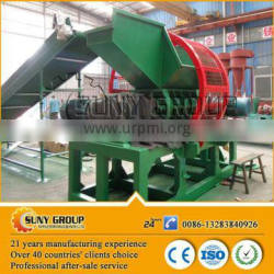 New design waste tyre and plastic recycling plant equipment