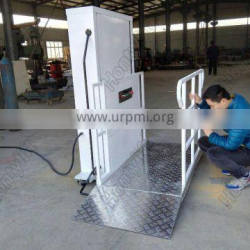 Lower price of disabled people wanted wheelchair lift platform hydraulic elevator