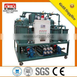DYJ series High-Efficient Gear Oil Purify Machine with Emulsion Breaking/water purifier/china oil essential machine