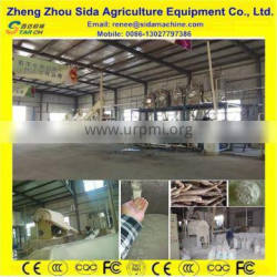No Polution and Low Consumption 25t/day Potato Starch Making Process