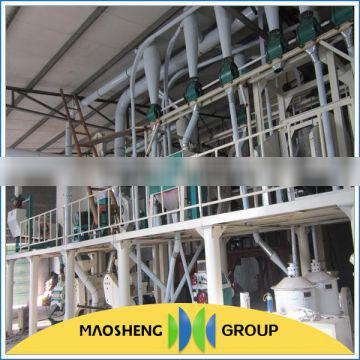 Maosheng brand easy operation wheat mill industrial corn grinder