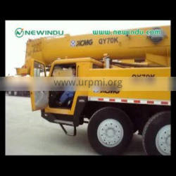 Official Truck Crane QY70K crane mounted truckt 70Ton for sale