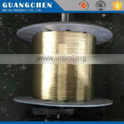 electroplate cooper wire rope 2*3-0.45MM