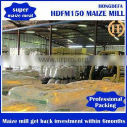 Full automatic high efficient maize/corn flour milling machine