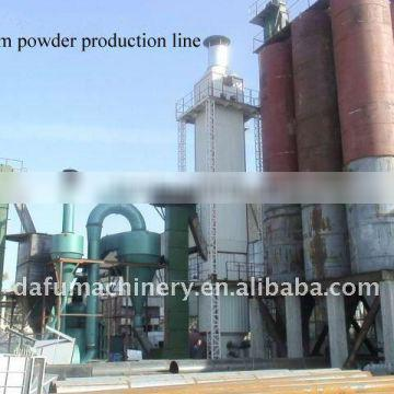 hot selling gypsum powder production line with reliable quality and favorable price
