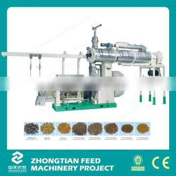 China supplier floating fish feed extruder machine price