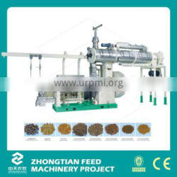 CE Approved High Tech Single Screw Floating Fish Feed Extruder Machine/Pet Food Pellet Machine