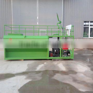 New condication Hydroseeding machine in landscape project