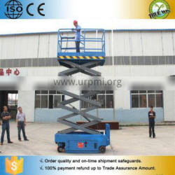 One man self-propelled indoor electric lifting equipment