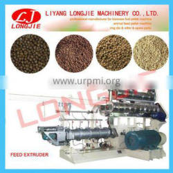 SPHS Extruder for floating fish feed pellet machine price