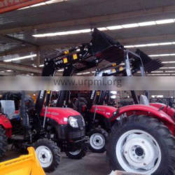 4X4 tractor front end loader snow blade