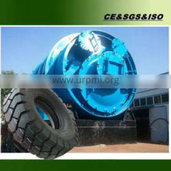 Energy saving waste tyre recycling machine with CE, ISO and BV by Shangqiu Sihai