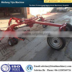 Hot sale CE approved wide rotary hay tedder for tractor