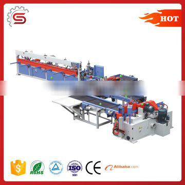Semi-Automatic Finger Joint Production Line for Laminated Wood