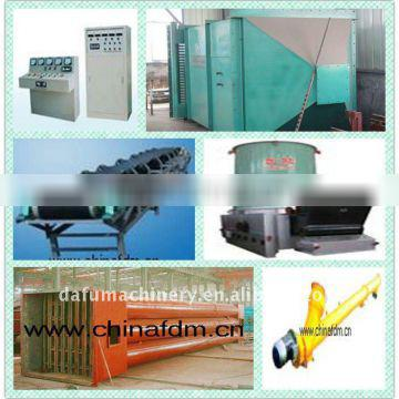The newest skill Gypsum powder production line from China