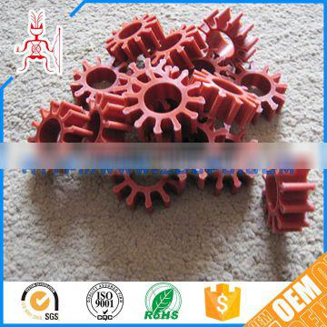 Customized CNC machining self lubrication rubber impeller