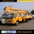 towable boom lift for sale hydraulic arm lift platform aerial lift