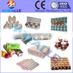 High efficiency Recycling paper pulp egg carton shaping machine