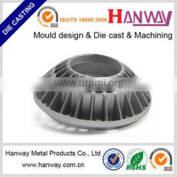 China factory customizes high purity aluminum die casting auto body parts