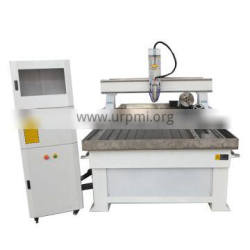 1325 woodworking cnc router with single air cooling spindle ,pressure wheel