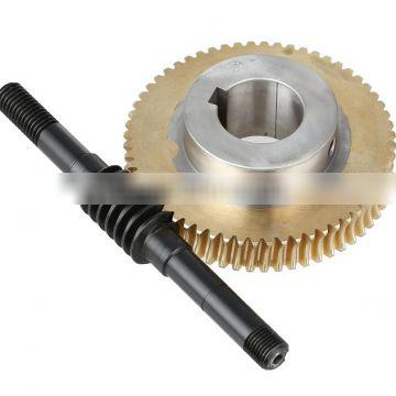 construction worm and worm wheel