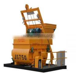 Good quality pan type forced concrete mixer in block production line