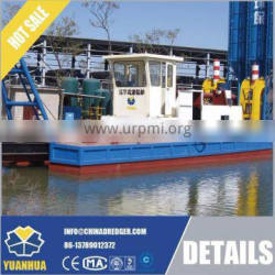 Cutter Suction Dredger use to pull sand from runing river
