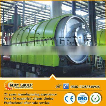 Recycle waste oil refined machine